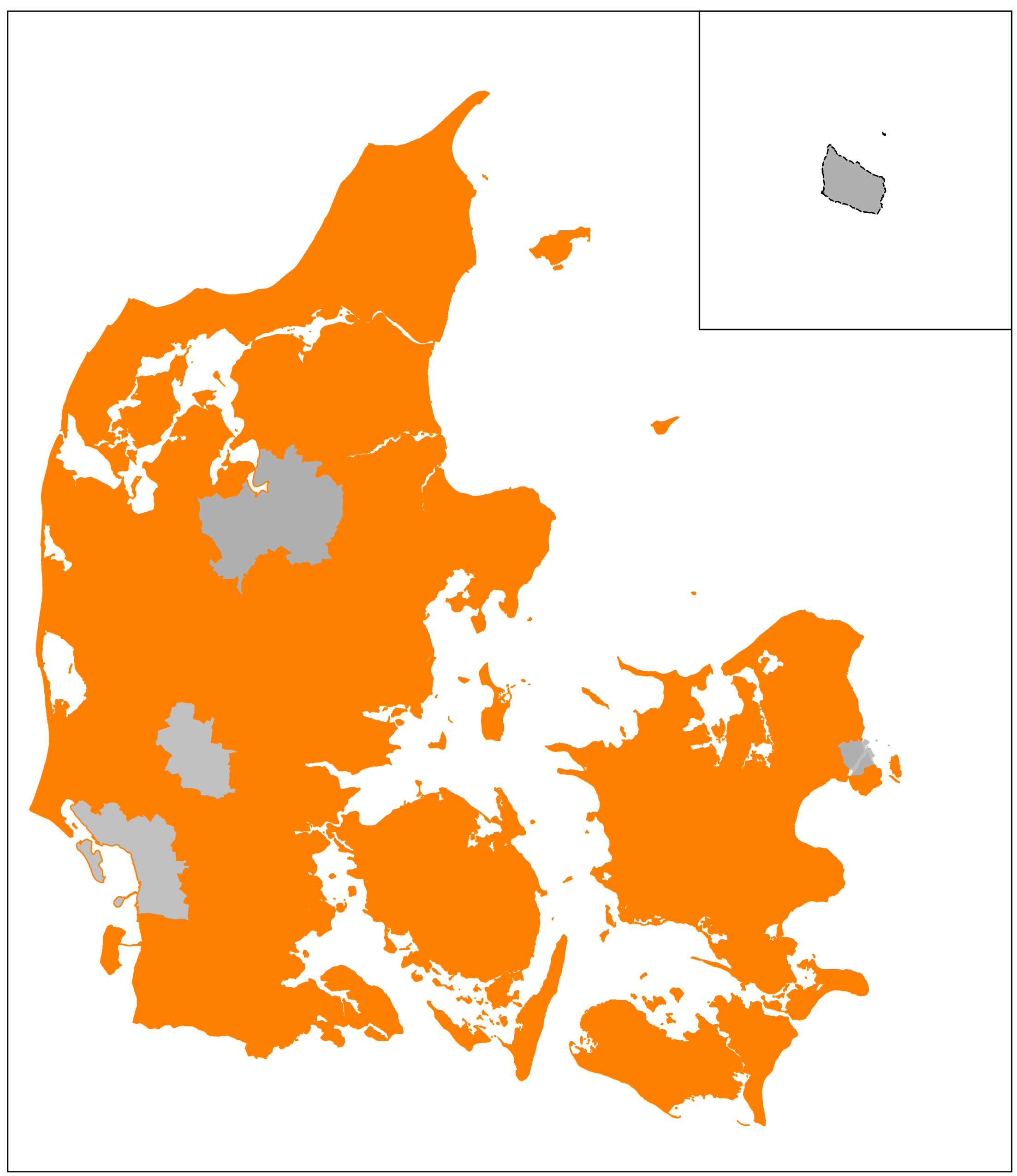 Medlemsmuseer fremhævet orange